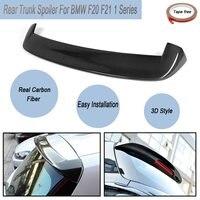For BMW F20 F21 1 Series Full Carbon Fibre M Performance 3D Rear Trunk Car Lip