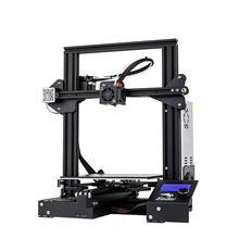 2019 Ender-3X 3D принтер DIY Kit Большой размер I3 мини принтер 3D печать Мощность. Магнитная пластина Creality 3D Ender 3X