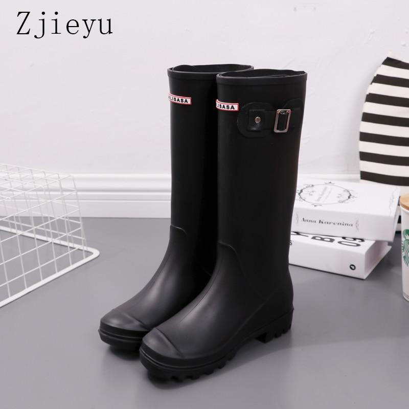 цена Horse Riding Gumboots winter fishing boots Rain boots equitacion rain shoes Rain bot Wellies black galoshes