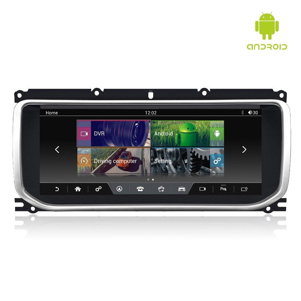 MERRYWAY 10.25 ''pour RANGE ROVER EVOQUE 2012-2016 Tableau de Bord Multimédia Navi GPS Bluetooth Android6.0 RAM + ROM 2 + 32 GB Lecteur
