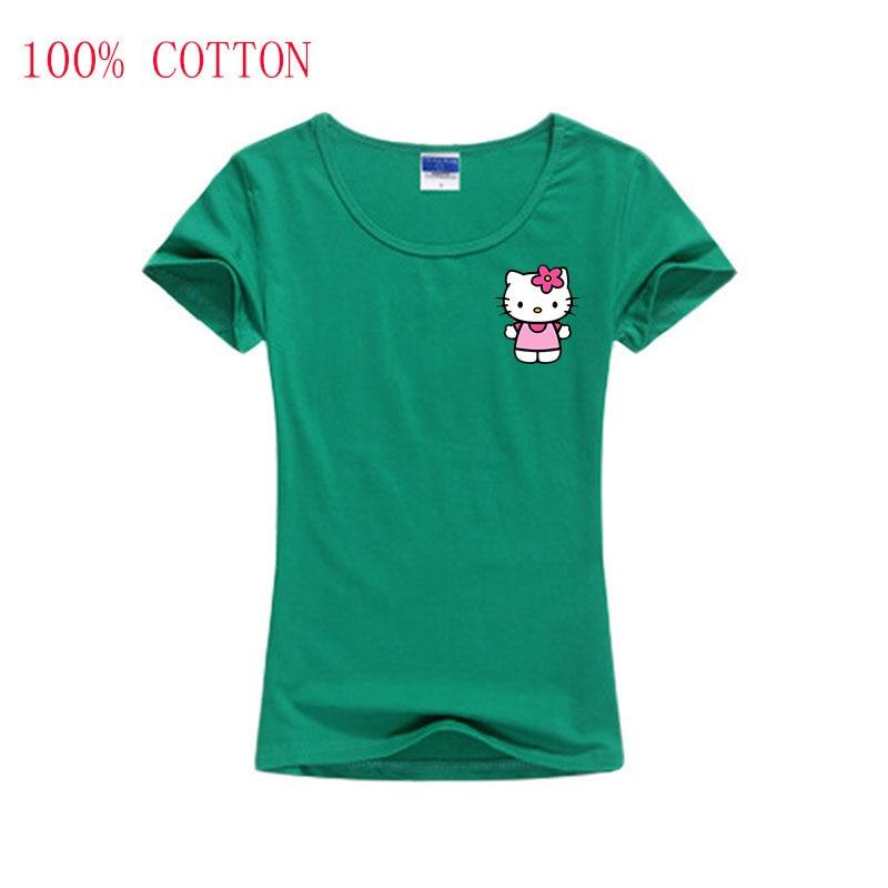 2018 Fashion T-shirts Women T Shirt Women Clothing Female Tumblr Blusa Clothes O-Neck ...