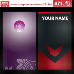 0071 19 business card template for print on plastic visit card design name card online