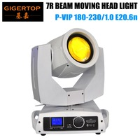TIPTOP TP 7R White Color Painting 230w sharpy 7r beam moving head light dj beam moving heads 2pcs with Wooden Case Packing