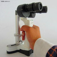 10X 16X Handle Slit Lamp Microscope Portable Special Eye Microscope Pet Camera Facial Check Medical Equipment