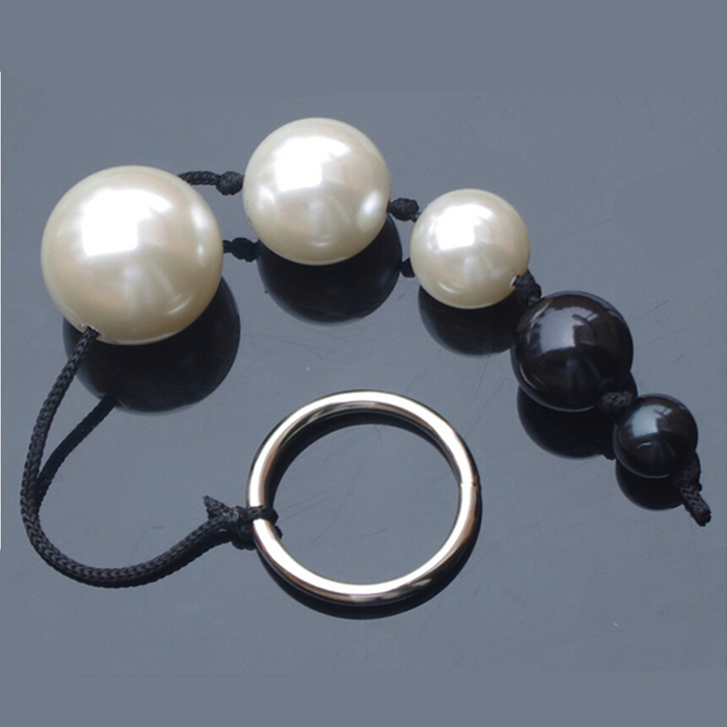 5 Beads Anal Ball Smart Elves Love Balls Pearl Anal Beads Butt Plugs Anal Sex Toys For Men & Women Adult Games Anal Toys.