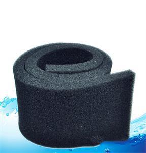 1PCS Practical 50*12*2cm Biochemical Cotton Filter Aquarium Fish Tank Pond Foam Sponge Filter Black