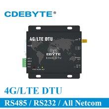 E840 DTU (4G 02) 4G LET Modem Serial Port Server เครื่องส่งสัญญาณและตัวรับสัญญาณไร้สาย IoT โมดูล RF สำหรับการรับส่งข้อมูล