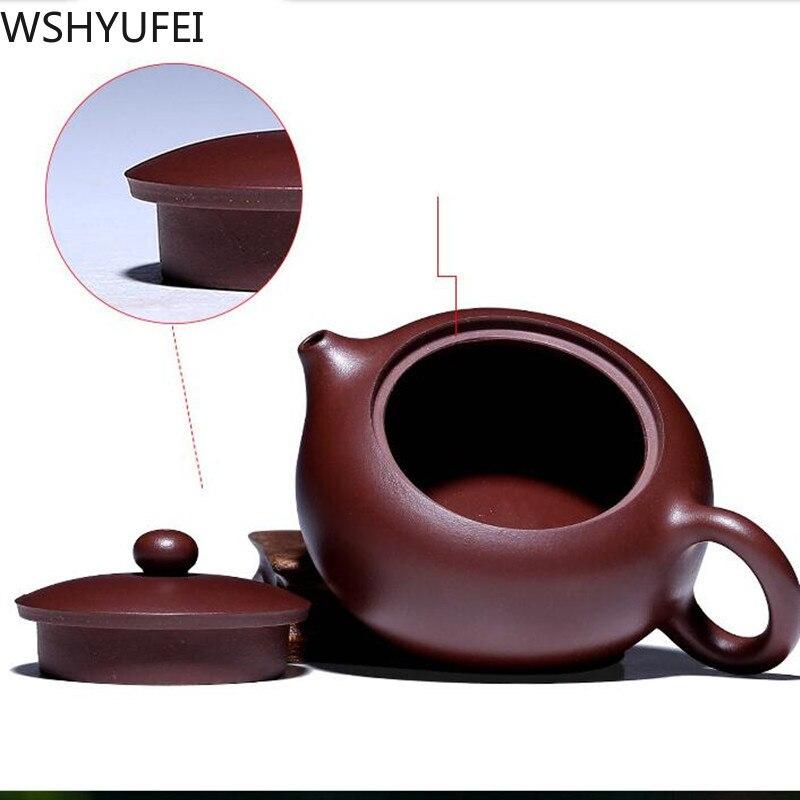 190 ml hecho a mano de vidrio de borosilicato grueso té olla filtro chino KungFu tetera perfumada tarde té accesorio - 4