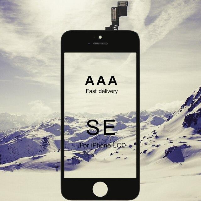 10pcs Tutti Testati AAA CRISTALLI LIQUIDI Per il iPhone SE Display LCD con Vetro Touch Screen Digitizer Assembly Per il iPhone SE lcd di qualità AAA