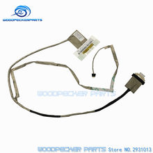 Free Shipping LVDS LED Cable Lenovo G580 G585 G580A G480 G485 laptop QIWG6 video screen LCD LVDS cable DC02001ET10 DC02001ES10(China)
