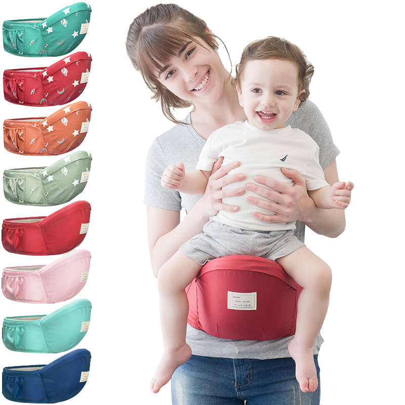70-120cm Waist belt Baby Carrier Waist Stool Walkers Baby Sling Hold Waist Belt Backpack Hipseat Belt Kids Infant Hip Seat(China)