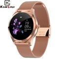 2019 Nieuwe Slimme Horloge Vrouwen KW10 Hartslag Bluetooth Smart Horloge IP68 Waterdichte Smartwatches Fysiologische Cyclus Horloge voor IOS