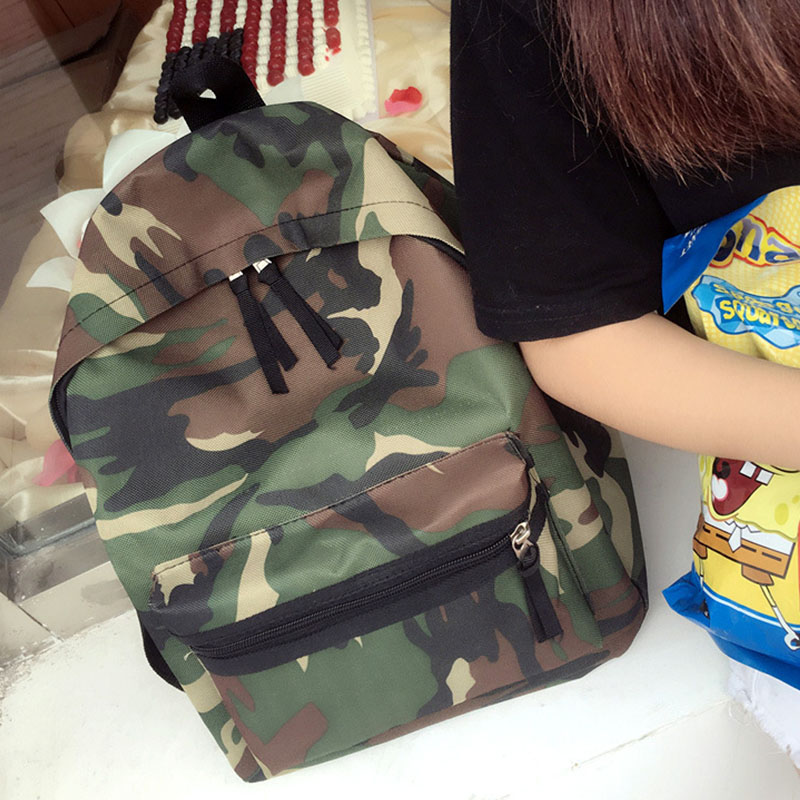 YOUYOU MOUSE Fashion Army Men Backpacks Canvas Print School Backpack Bags For Teens Boys Camouflage Pattern Casual Backpack the division backpack for boys men laptop bags cool pc game tom clancy the division camouflage backpacks