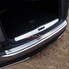 2 * Стали Внутренний и Внешний Задний Багажник Загрузки Защиты Fender Pad Для Peugeot 3008 GT 2017