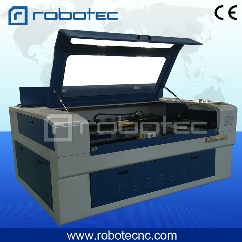 Top China laser carton box cutting machine/clothing laser cutting machine