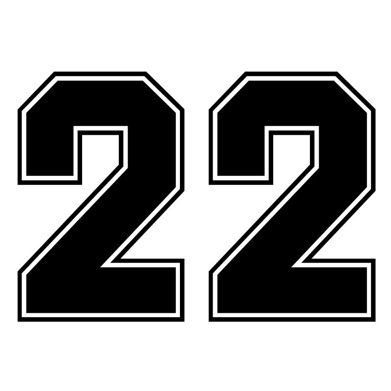 CK2080#20*14см наклейки на авто Индивидуальные цифры - 22 водонепроницаемые наклейки на машину наклейка для авто автонаклейка стикер этикеты вини...