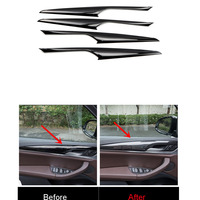 abs Car Styling Accessories Interior Car Door Armrest Stripe Cover Trim 4PCS for BMW X3 G01 2018 Third Generation