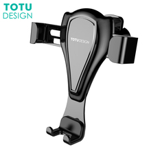 Фотография TOTU Universal Car Phone Holder For iPhone X 8 7 6 6S Plus Air Vent Mount Mobile Phone Holder Stand For Samsung S8 S7 Car Mount