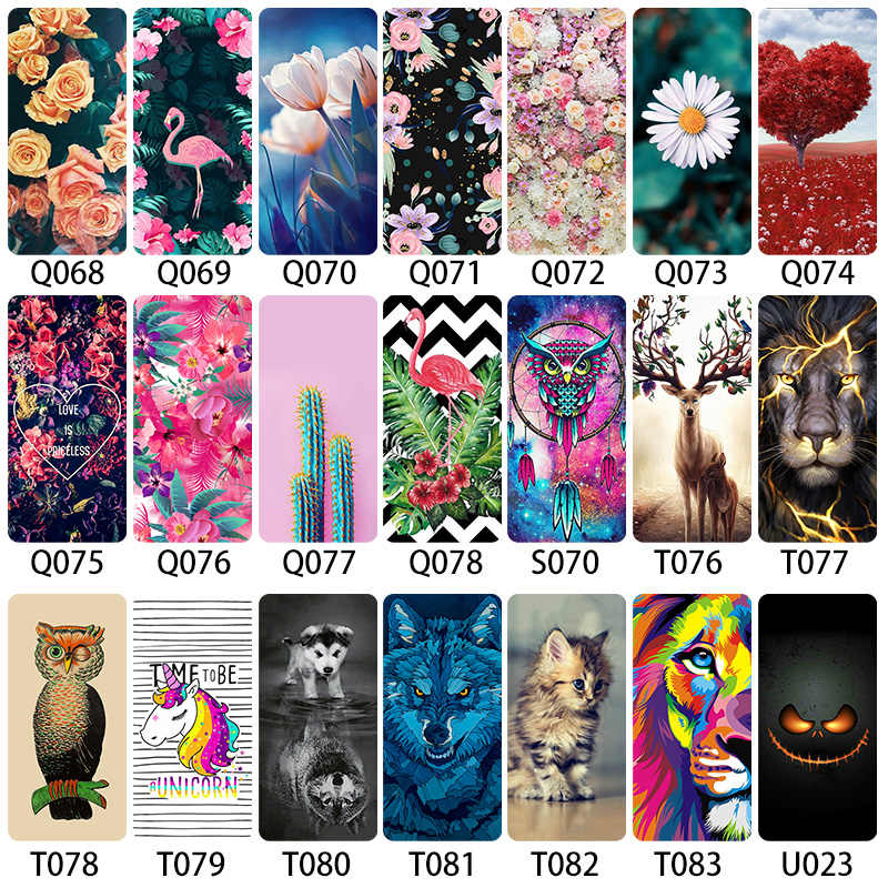 Bolomboy Painted Case For Sony Xperia Z1 Compact Case Silicone Soft TPU Cases For Sony Z1 XZ2 Mini Compact Cover
