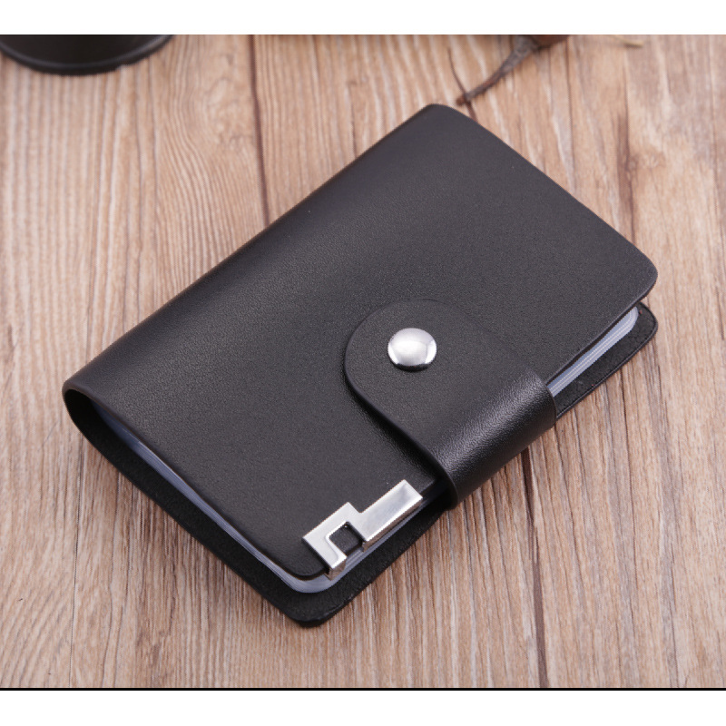 Patent Leather Bank Credit Card Package Folder Card Casebusiness ...