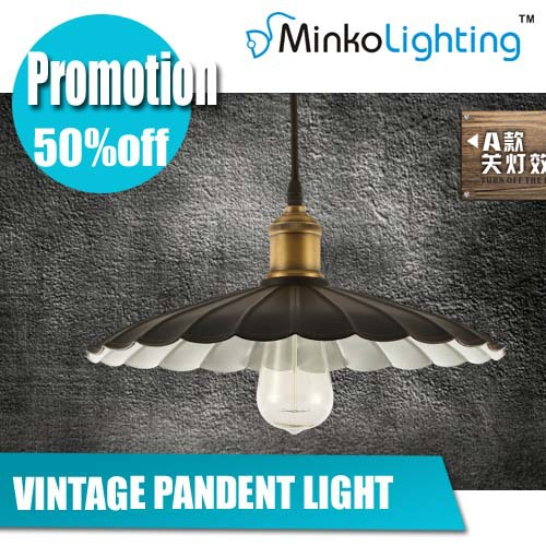 Iron pendant light ,restaurant lamp,creative Coffee shop lighting, bar light,vintage lighting free shipment china mail - MINKO LED Lighting store