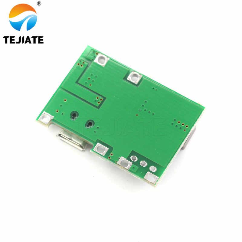 3,7 V 4,2 V Li-ion 18650 Placa de cargador de batería DC-DC Step Up Módulo de carga de batería de litio paso- A la Junta para