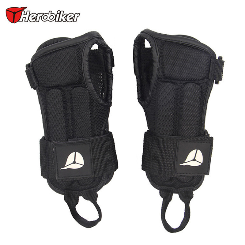 HEROBIKER Wrist Guard Brace Sport Protective Gear Hand Protectors Gloves Armguard for Snowboard Skiing Skating Skateboard MTB