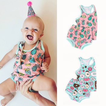 TinyPeople new baby girl summer clothes cotton 2-piece baby girl outfit set newborn baby boy clothes cute infant dress kids gift free ship 100% cotton 2018 bebes 6 24m set baby boy clothes baby girl clothes newborn 3 piece ropa boy