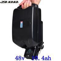 Бесплатная Доставка 48 В 10.4AH литиевая батарея для электрических велосипедов 48 В 500 Вт 750 Вт Bafang мотор комплекты