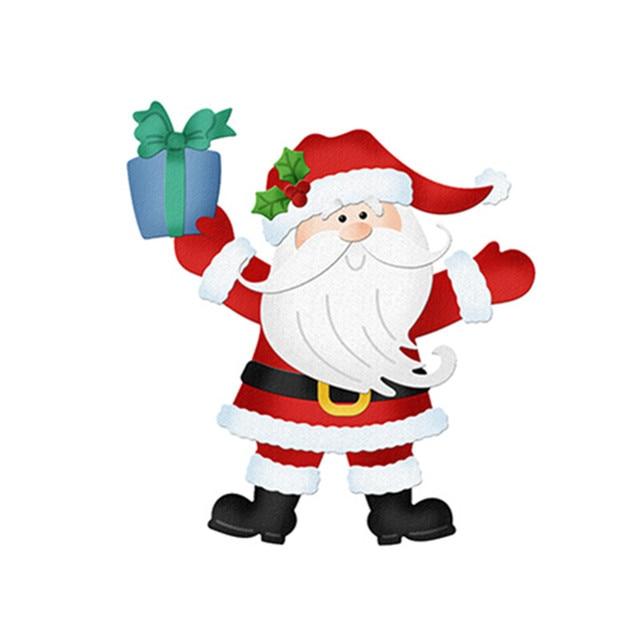 Pochoir Pere Noel.3 37 Bricolage Père Noël Découpe Meurt Pour Scrapbooking Métal Artisanat Découpé Pochoirs Gaufrage Cartes De Papier Faisant Décoratif Dans