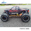 Hsp 1/5 escala gas powered monster truck 2.4g controle remoto, motor de 30cc, 2*20 kgs e 15kgs servo (item n ° 94050)