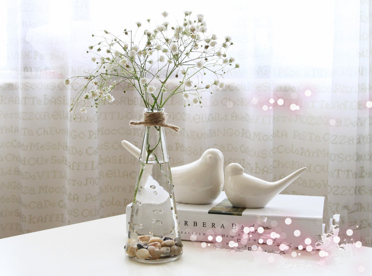 Ikea Nadi Table Light Rain Flower Vase Glass Crystal Vase Insert Creative Flower Arrangement Device Ornaments Lucky Bamboo Bamboo Skateboard Vases Glasswarevase Pvc Aliexpress