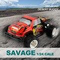 RC Автомобилей WLtoys A212 1/24 Высокоскоростной Гоночный Автомобиль Электрический 4WD Monster Truck RC Пульт Дистанционного Управления Дрейф Хобби Автомобиля