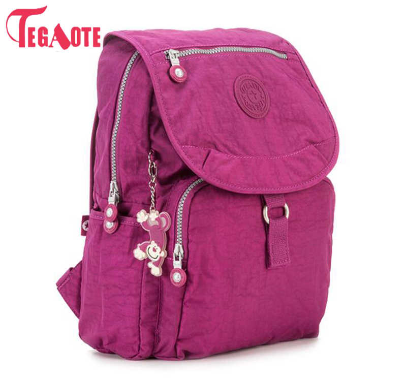 TEGAOTE Women Backpack Small Cute Backpack for Teenage Girls Mochila Feminine Female Famous Casual Travel Bagpack Sac A Dos 1326