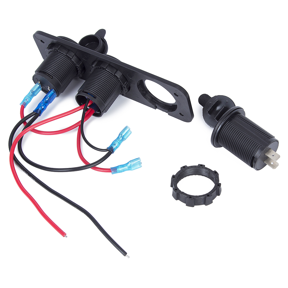 Image 5 - DC 12/24V 5V/2.1A Voltmeter Dual USB Charger Cigarette Lighter For RV Car Boat Vehicles Truck GPS MP3 Car Charger With Switch-in Cigarette Lighter from Automobiles & Motorcycles