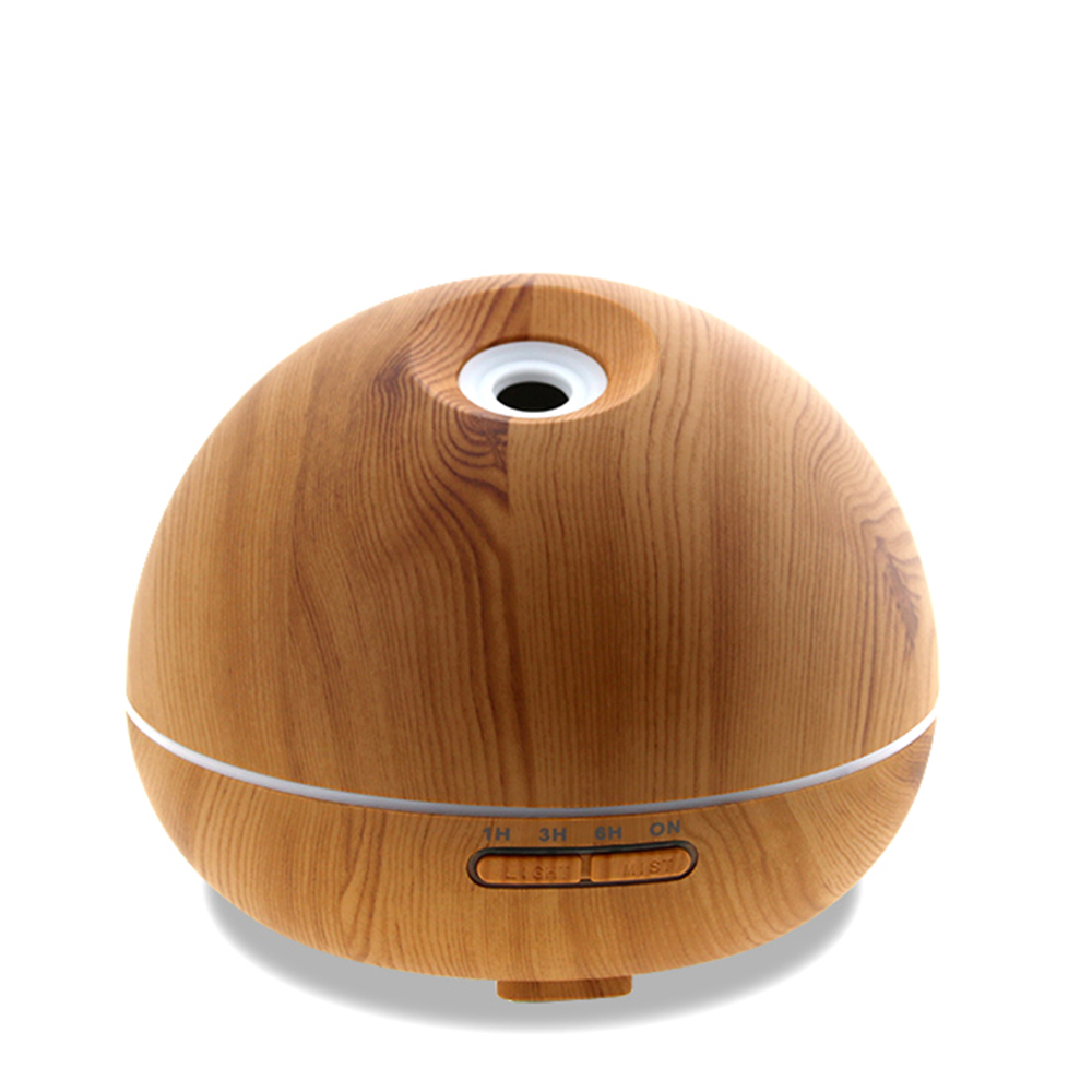 High Quality 300ML Wood Grain Ultrasonic Aroma Diffuser Air Humidifier Purifier Essential Oil Aromatherapy Fogger Mist Makers creativity essential oil blend true botanical 100% pure and natural undiluted high quality therapeutic grade blend of rosemary clary sage hyssop marjoram cinnamon 5 ml