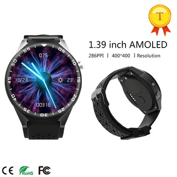 Original Android 5.1 Smart Watch 3G MTK6580 16GB ROM Camera Bluetooth SIM WIFI Phone GPS Heart Rate Monitor Wearable Devices