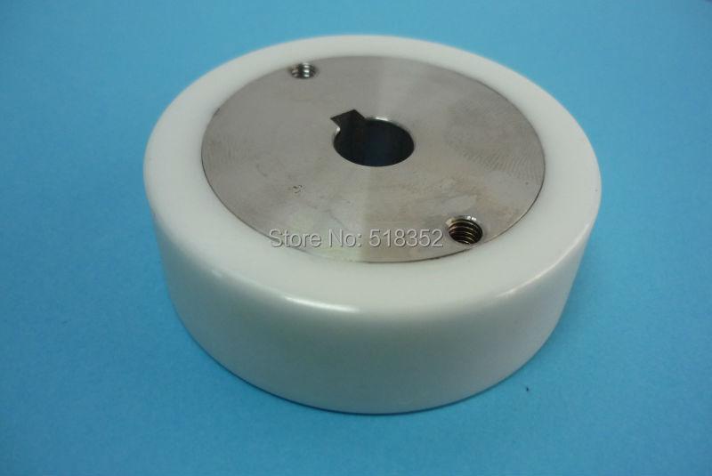 X054D256G51 X058D077G51 M402 Mitsubishi White Ceramic Leader Pinch Roller Main-wheel OD57x ID10x T18mm for WEDM-LS Machine Parts x054d256g51 x058d077g51 m402 mitsubishi white ceramic leader pinch roller main wheel od57x id10x t18mm for wedm ls machine parts