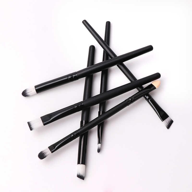 MIXDAIR 6 шт Профессиональные кисти для макияжа Набор тени Фонд Порошок Подводка для глаз с ресницами, губами Make up Brush мягкий синтетический волос