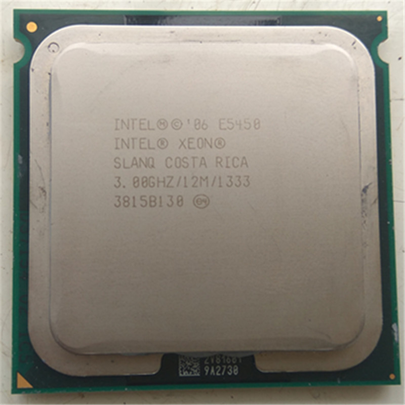 Original <font><b>XEON</b></font> 771 <font><b>E5450</b></font> CPU 3.0GHz/L2 Cache 12MB/Quad-Core//FSB 1333MHz/ server Processor working on some <font><b>775</b></font> socket mainboard image