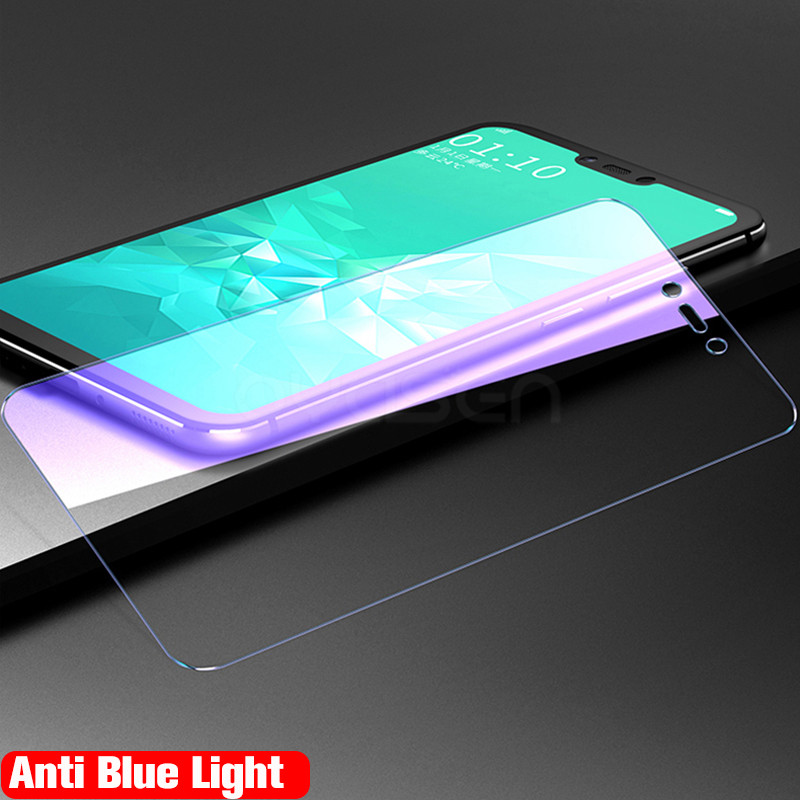 Tempered Glass For Huawei P20 P10 Mate 10 Lite Nova 3 3i 3e Honor 8X Max Note 10 P Smart Plus Anti Blue Light Screen Protector in Phone Screen Protectors from Cellphones Telecommunications