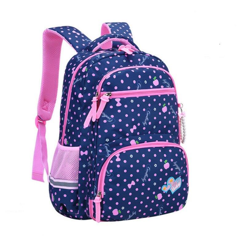 waterproof Kids School Bags Children Backpacks for Girls Backpacks princess Schoolbags Mochila Bookbags Kids Baby Bags Satchel
