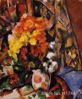 flower art impressionism Chrysanthemums Paul Cezanne paintings reproduction High quality Hand painted