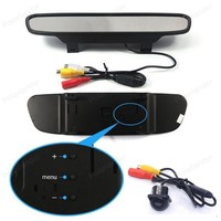 Auto Video Parking Assistance 4.3 inch TFT LCD Car Rearview Mirror Monitor + MiNi CCD Rear View reversing Camera