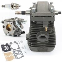Chain Saws Cylinder Piston Crankshaft Carburetor Gaskets For Stihl 023 025 MS 230 MS 250 Motosierra Motor Engine 42.5mm
