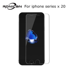 20Pcs Tempered Glass for iPhone X XR 5 5s SE 6 6s 7 8 Plus Explosion Proof screen protector Film for iphone X XS XR 11 Pro Max