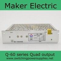 60วัตต์5โวลต์12โวลต์24โวลต์-12โวลต์ดีQ-60D quad