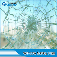 12mil Clear Safety Window Film Anti Shatter Glass Protection