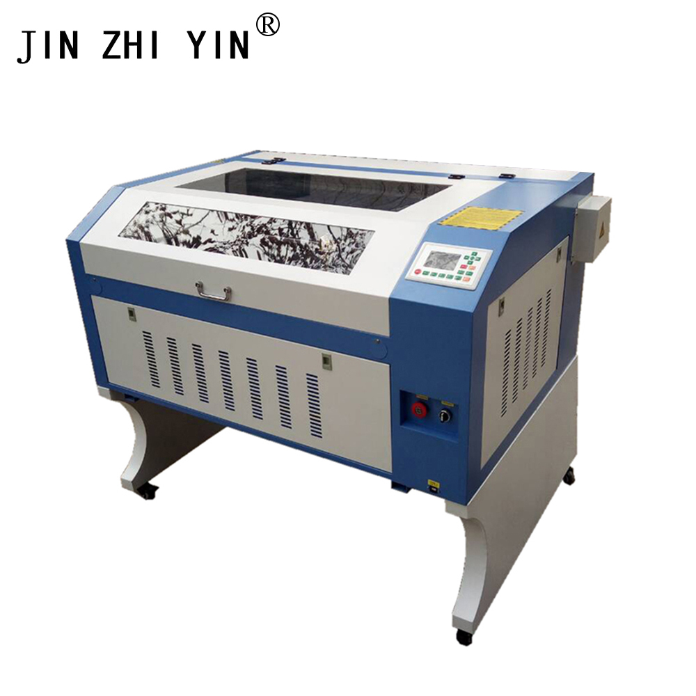 Laser Engraver Cutting 6090 9060 100w Power Ruida 6442S Support Russian Language 110V 220V Co2 Laser