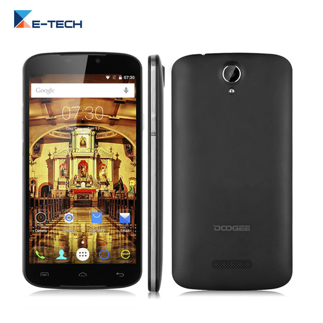Original Doogee X6 Pro 4G LTE Smartphone MT6735P Quad Core 5.5 Inch 1280*720 2G RAM 16G ROM Android 5.1 Cell Phone